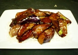 Braised Hot & Pungent Eggplant