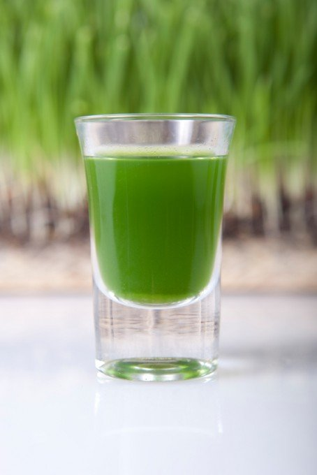 Healthy Greens Shots