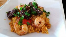 Surf and Turf Fried Rice