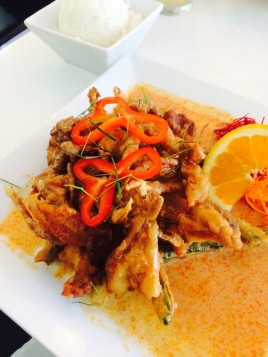 Panang Soft Shell Crab