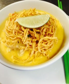 Yellow Curry Noodle Lunch