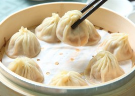 Juicy Steamed Pork Dumplings (8 pc)