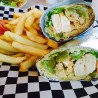 Garlic Chicken Wrap