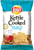 Lay's Kettle Cooked Salt and Vinegar Chips