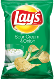 Lay's Sour Cream Chips
