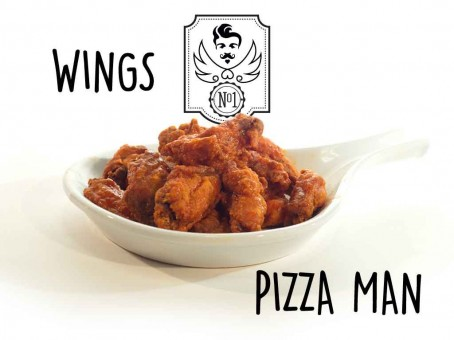 Pizza Man Van Nuys Wings