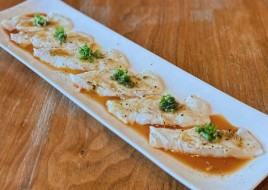 Halibut Garlic Yuzu