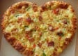Medium Heart Shaped Pizza