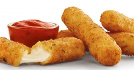 Deep Fried Mozzarella Cheese Stick