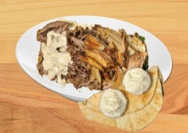 ONE POUND SHAWARMA CHICKEN OR BEEF OR MIX