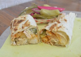 Tawouk (Chicken) Wrap