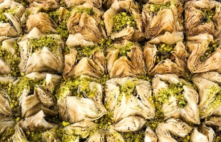 Crazy Falafel Los Angeles Baklava