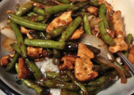 Ginger Chicken with String Beans