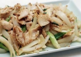 Chicken with Scallions