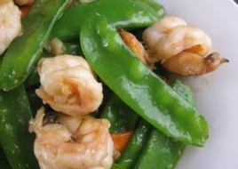 Shrimp with Pea Pods