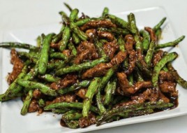 Beef with Green Beans