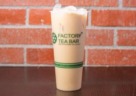 Honey Green Milk Tea