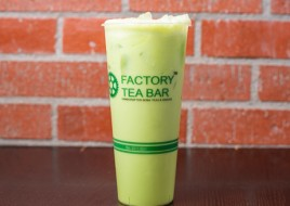 Mung Bean Green Milk Tea