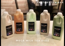 Mega Milk Tea (1/2 Gallon)