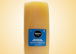 Bottle of Fresh squeezed Orange Juice (32 Ounces)