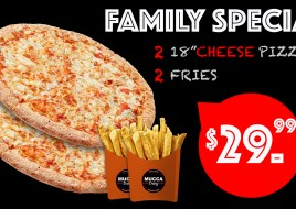 Family Special Cheese Pizza