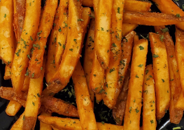 Seasoned Fries/Half Tray