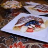 Strawberry Banana Blueberry Crepe