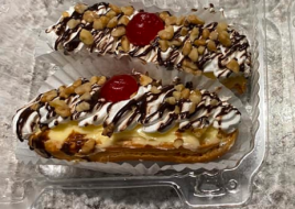 Banana Boats Pastry (Pack of 2)