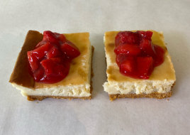Strawberry Cheese Cake Slices (2 Pack)