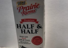 Half and half cream milk(946ml)
