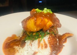 Chili Jam Glazed Cod