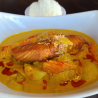 Yellow Curry Salmon