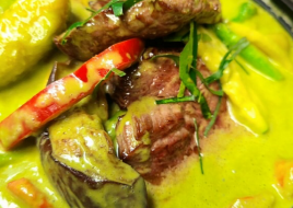 Green Curry Filet Mignon