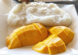Sweet Sticky Rice and Mango