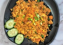 (R6) Crab Fried Rice