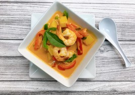 (C6)Pineapple Shrimp Curry